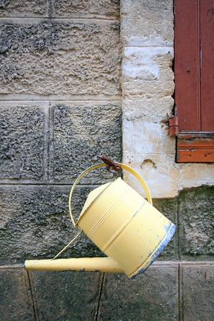 vaucluse: France - Gigondas Stock Photo