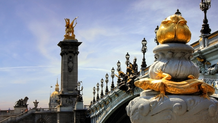 Alexandre Bridge iii Paris