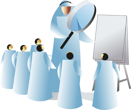 selecting: Concept on human resource management selecting potential employee.
