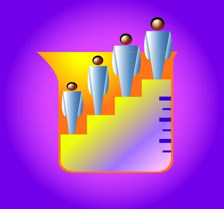 superacion personal: Concepto de medir el crecimiento personal.