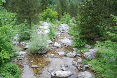 olympus: A creek on Mount Olympus.