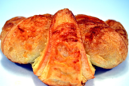 french fancy: A croissant Stock Photo