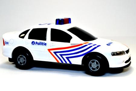 cr: A police car in Belgium.