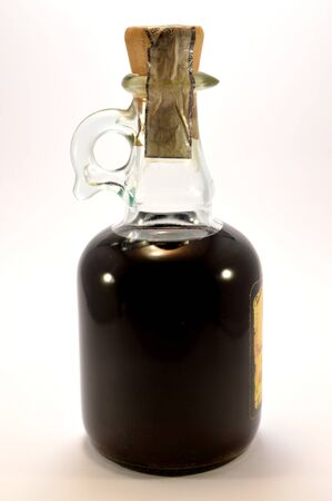 jug: An old vinegar jug.