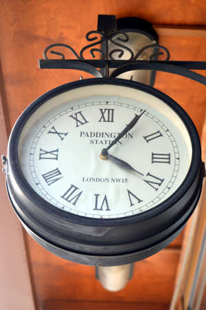 old clock: An old clock of a station of Matro.