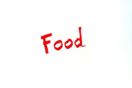 mot: Mot Food written in red letters on white background