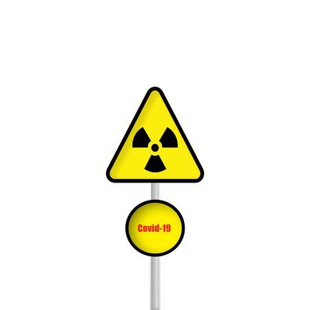 Covid-19 yellow 版權商用圖片