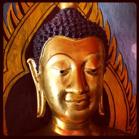 doi: Testa di Buddha a Doi Suthep