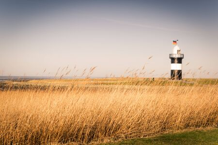 the wadden sea: National park Wadden sea Stock Photo