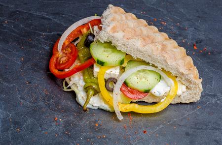 Doner Kebab gefüllt Standard-Bild - 43625332