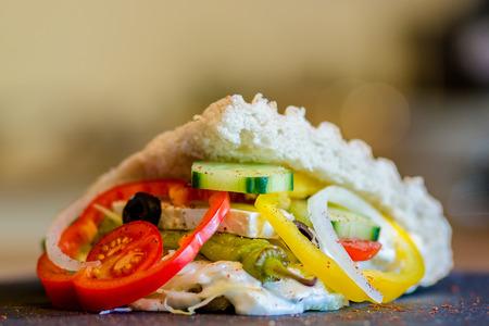 Doner Kebab filled