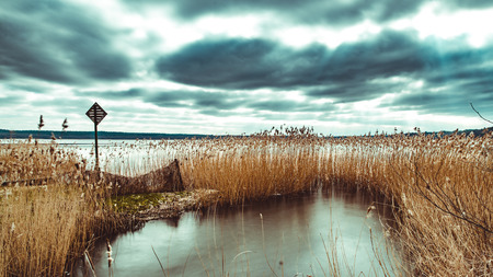 Nationalpark Mecklenburgische Seenplatte Standard-Bild - 56355468