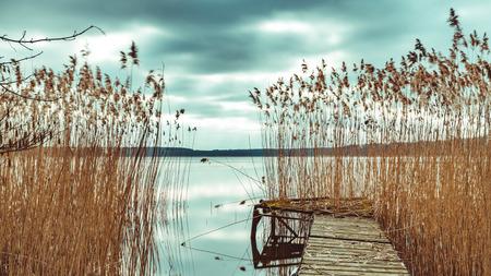 National Park Mecklenburgische Seenplatte Stock Photo