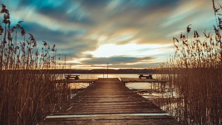 Nationalpark Mecklenburgische Seenplatte Standard-Bild - 56355469