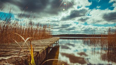 Nationalpark Mecklenburgische Seenplatte Standard-Bild - 56354523