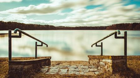 Nationalpark Mecklenburgische Seenplatte Standard-Bild - 56355470