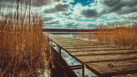 Nationalpark Mecklenburgische Seenplatte Standard-Bild - 56355498