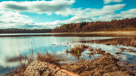Nationalpark Mecklenburgische Seenplatte Standard-Bild - 56355499