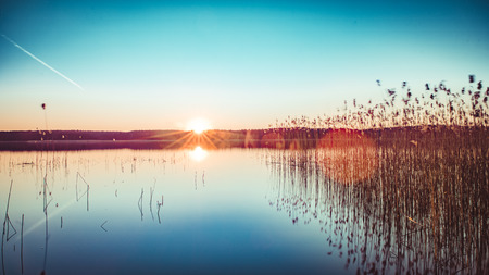 National Park Mecklenburgische Seenplatte Standard-Bild