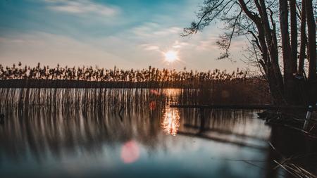 Nationalpark Mecklenburgische Seenplatte Standard-Bild - 56355501