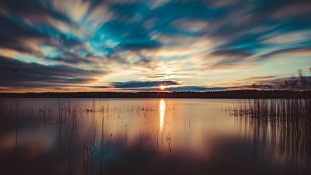 national park: National Park Mecklenburgische Seenplatte Stock Photo