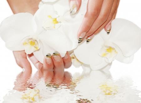 spiegelung: Manicure