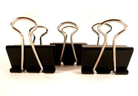 fold back: Fold back paper clips