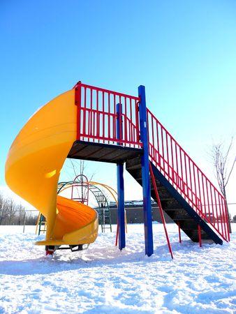 Empty children's playground Stock Photo - 2189915