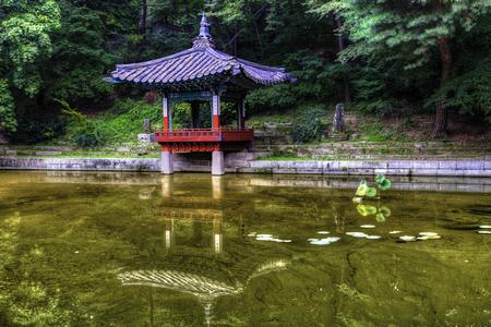 Merveilleux Changdeokgung Secret Garden Pagoda Seoul, South Korea Stock Photo   36939468