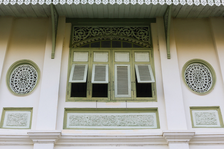 tradition: Thai window tradition style