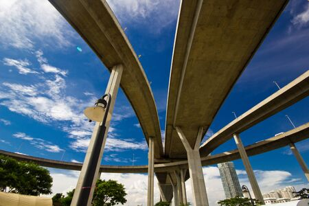 elevated express way Stock Photo - 15513045