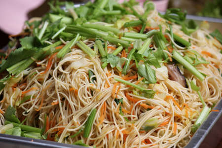 fired chinese noodle Stock Photo - 17996060
