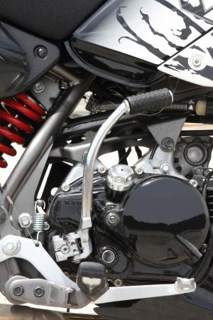 modificar: motocicleta - piezas de repuesto  Foto de archivo