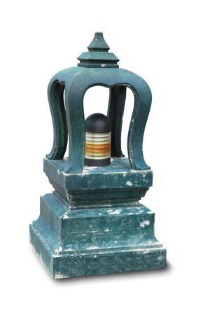 A thailand stone lantern photo