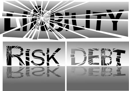 blatt: Wischen Sie Haftung, Risiko und Debt