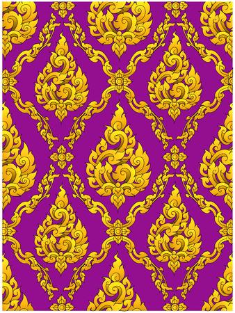 of siam: thai design pattern background