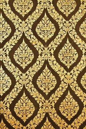 golden temple: Thai old patterns