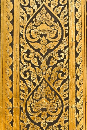 Thai old patterns photo