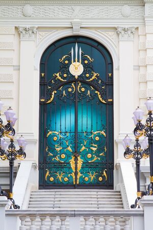 Stained glass doors Stock Photo - 7935083
