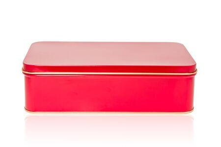 aluminum box red Stock Photo - 7935195