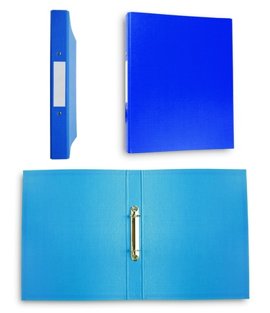 File blue collection photo