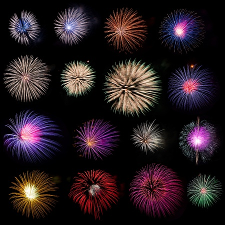Firework collection Stock Photo - 8434166