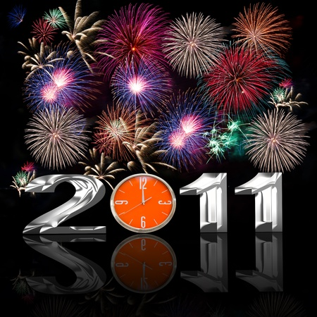 2011 new year  Stock Photo - 8452104