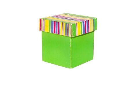 Old cardboard box Stock Photo - 8506027