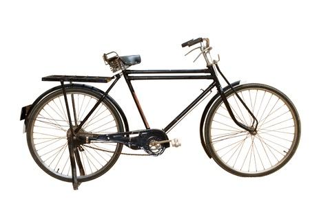 retro bicycle: Vieja bicicleta  Foto de archivo