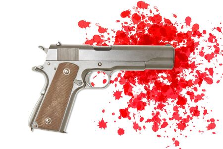 Gun crime  photo