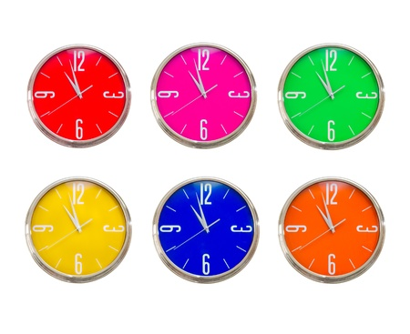 Clock collection Stock Photo - 9023019