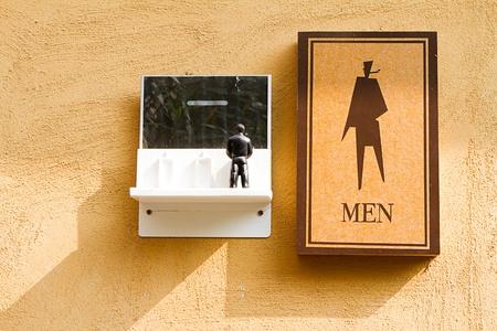 Sign toilet Stock Photo - 9023563