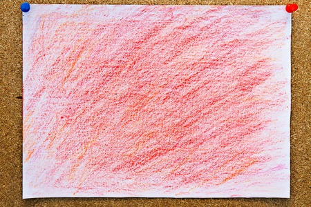 Painted on paper  Stock Photo - 9098088