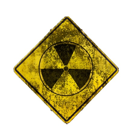 radioactivity: Old sign radiation